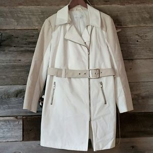 New York & Company Belted trench coat